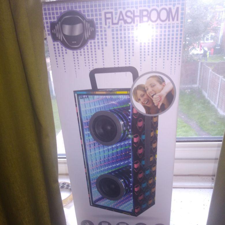 Glass Bluetooth speaker for sale