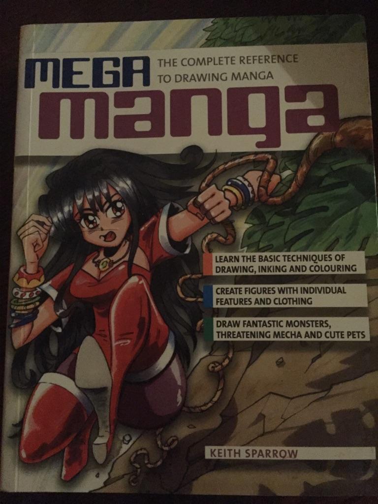Drawing manga book