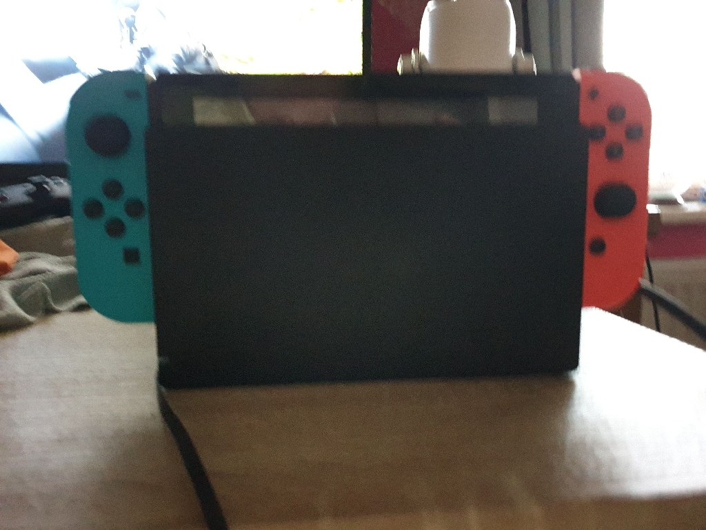 Neon Nintendo switch if interested text this 07857403523