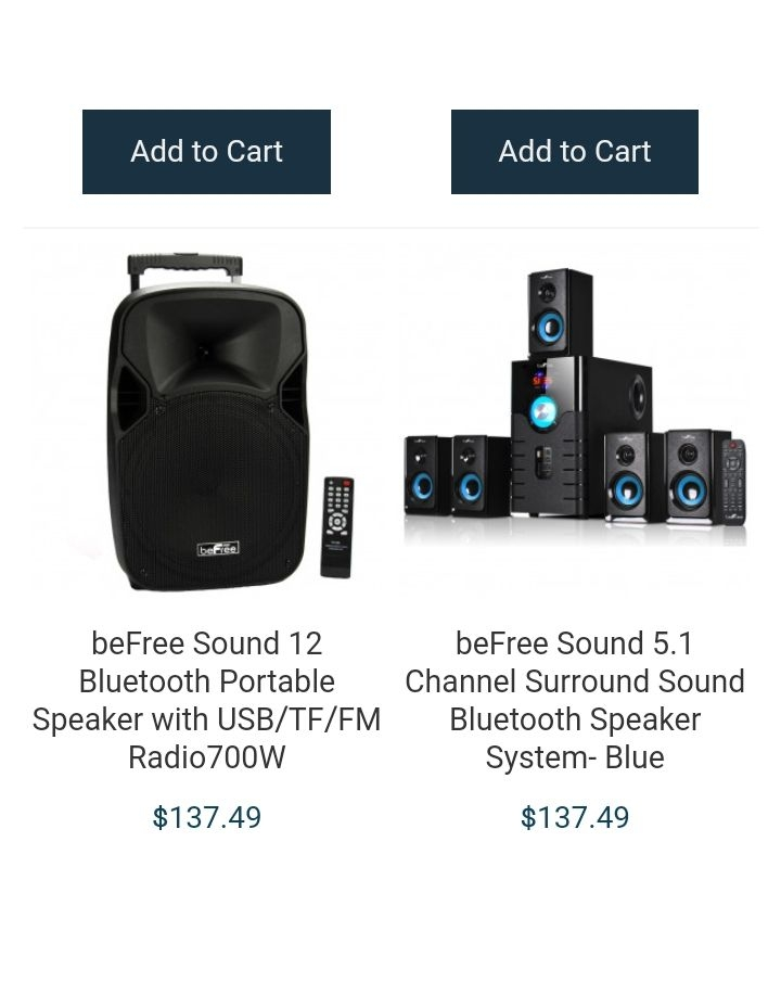 Speakers and Scanners