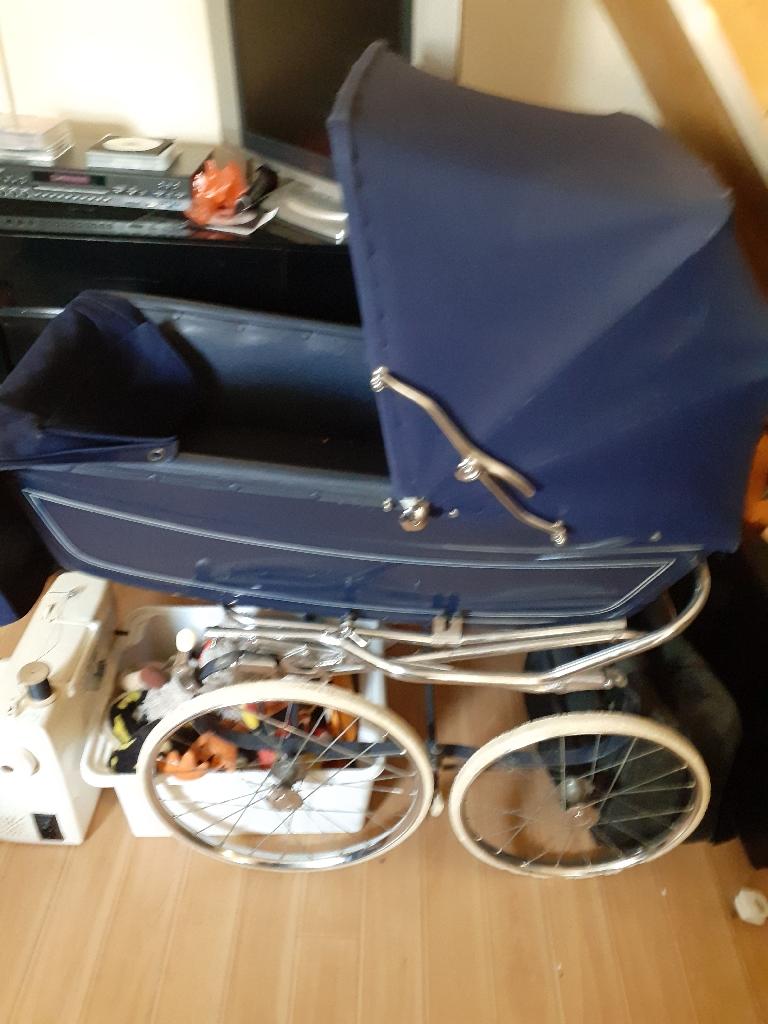 Coach built baby pram