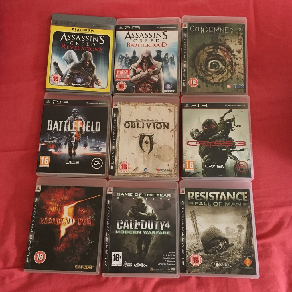 9 PS3 Games
