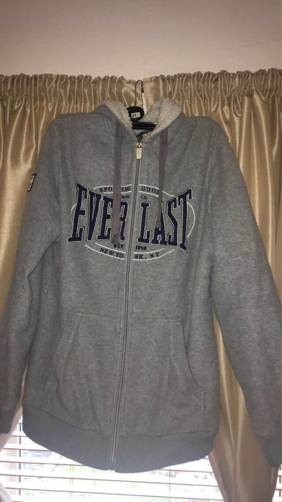 grey everlast hoodie