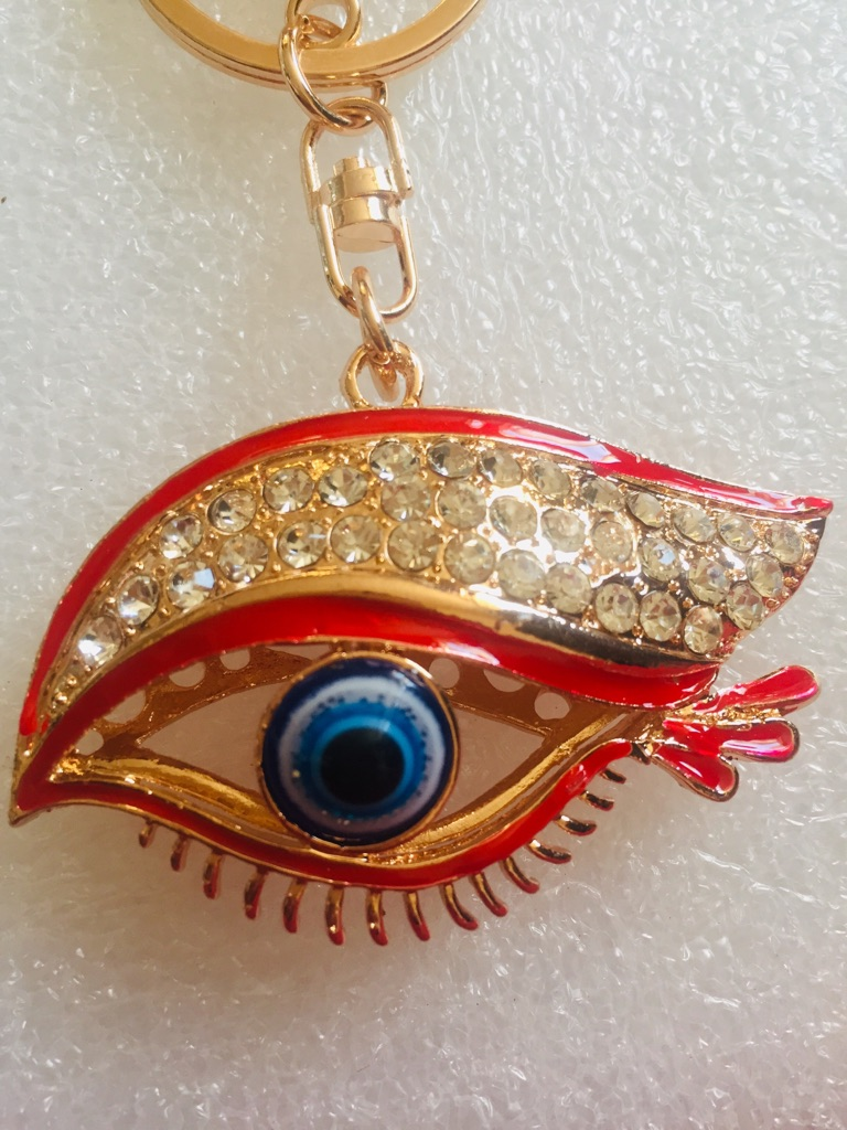 Keys ring holder with eye.### 3
