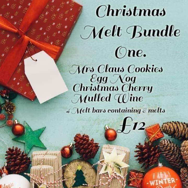 Christmas Scented Wax Melt Bundles.