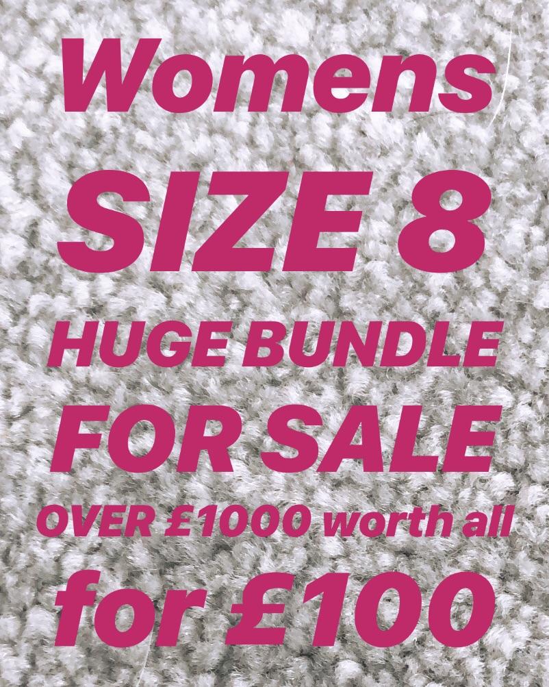 Huge bundle size 8; over £1000 worth