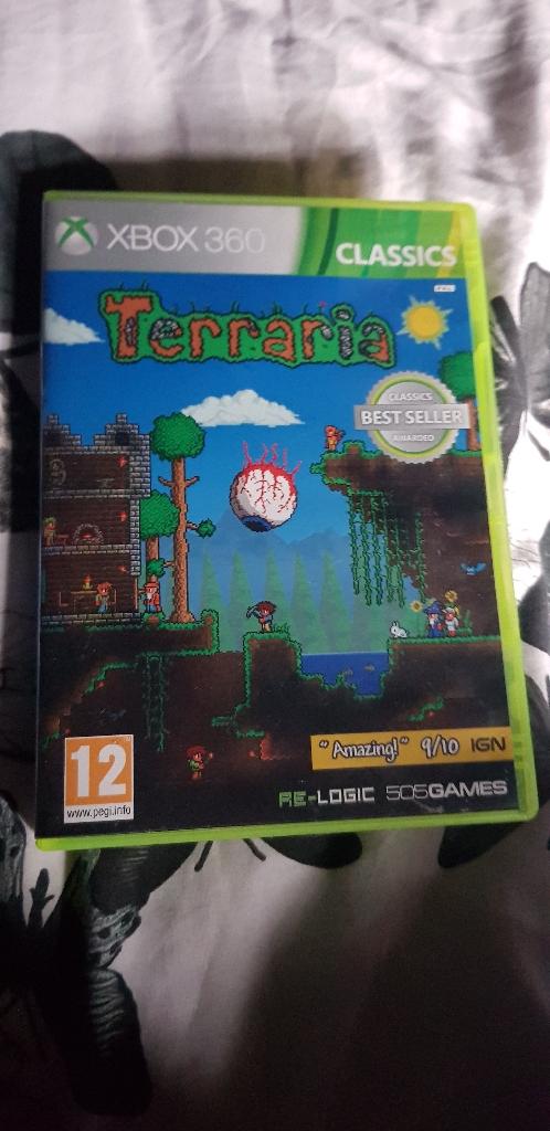 Terraria xbox 360 game