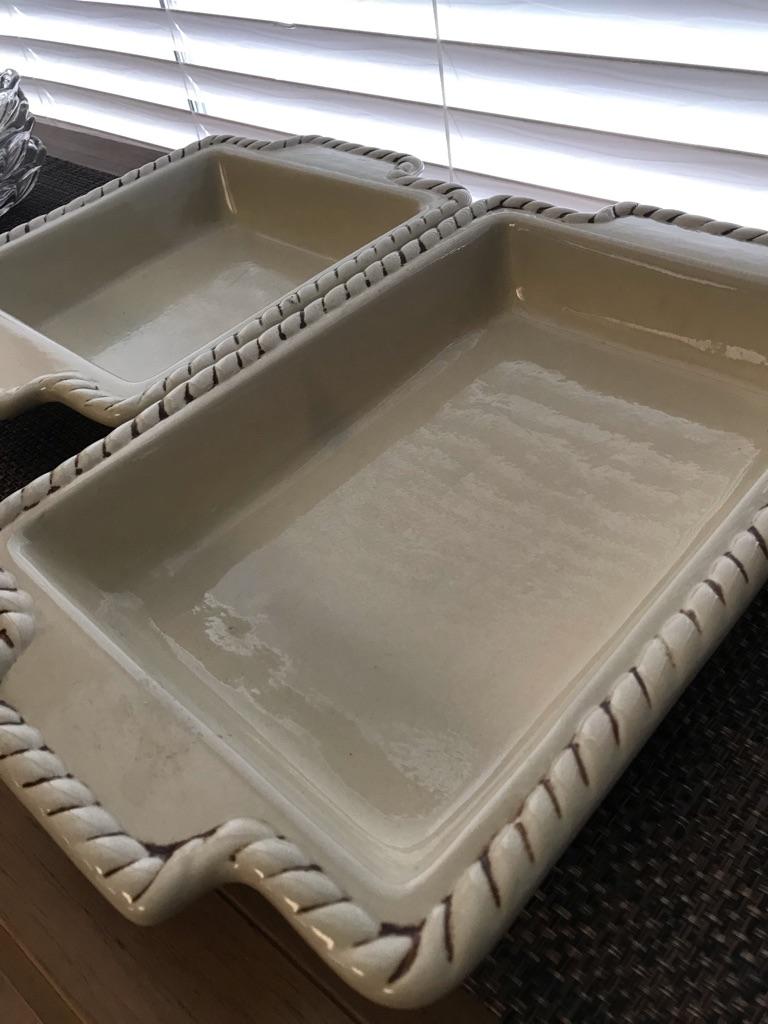 Gracious Goods- Casserole Dish 2pcs