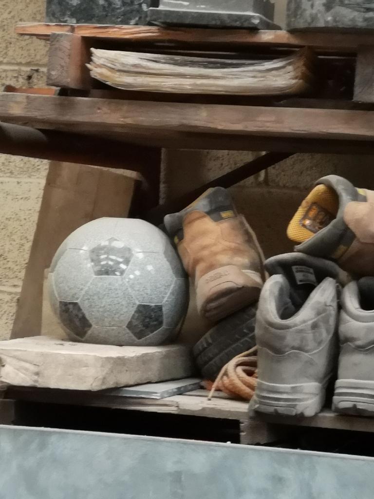 Granite footballs