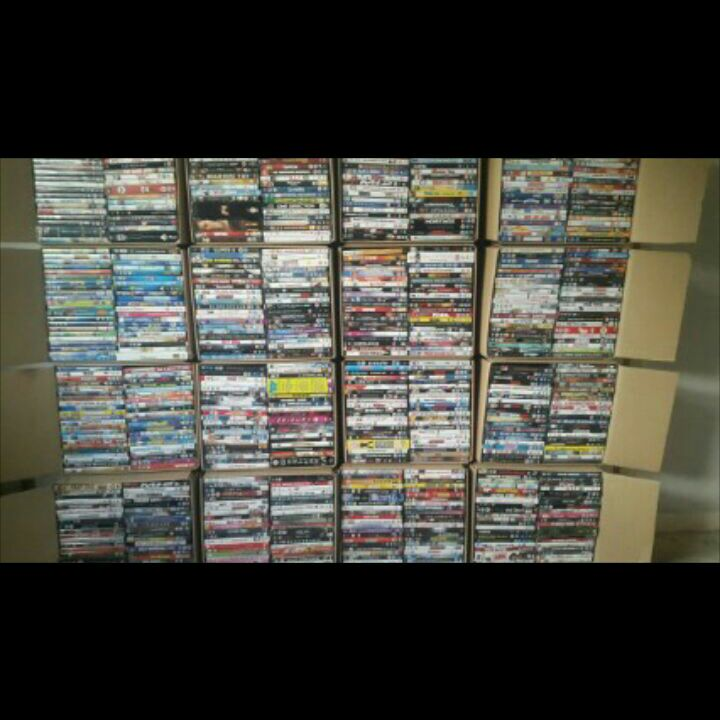 100 dvd joblot