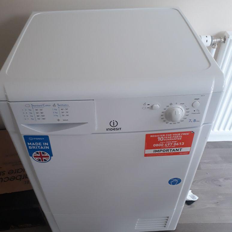 Indeset tumble dryer