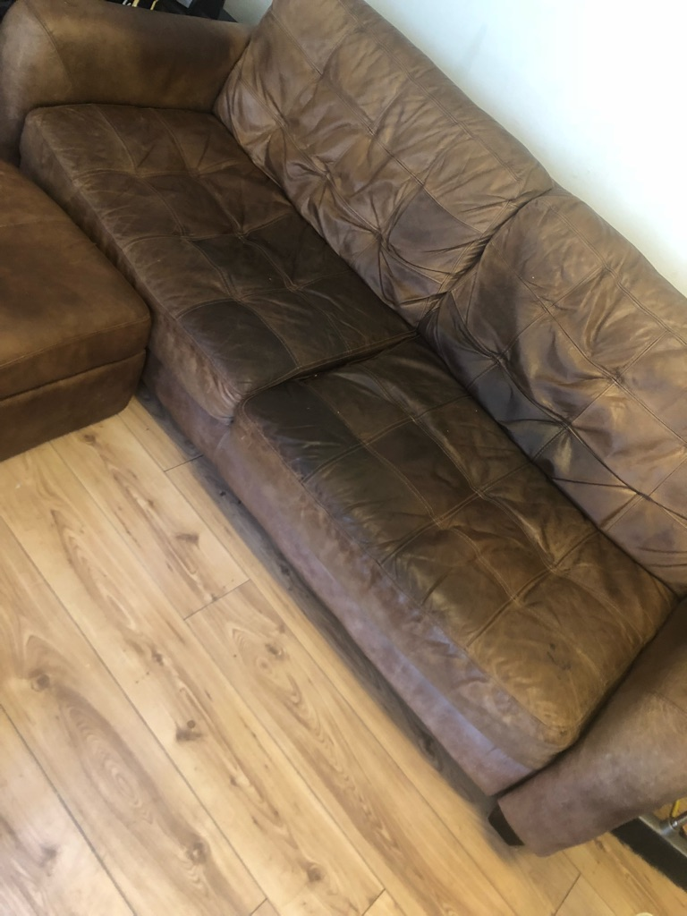3 piece sofa, arm chair and footstool