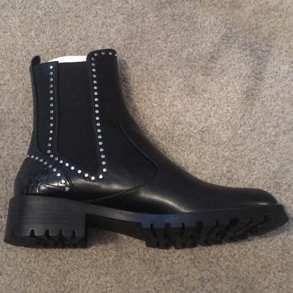 Zara black ankle boots