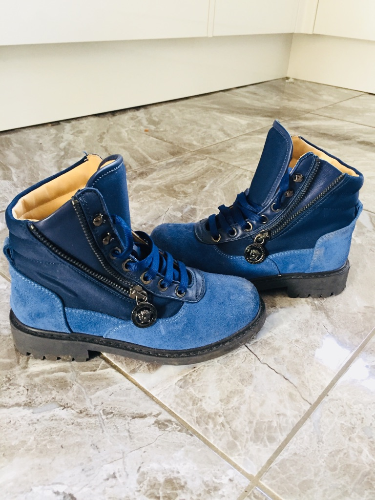 Versace kids boots