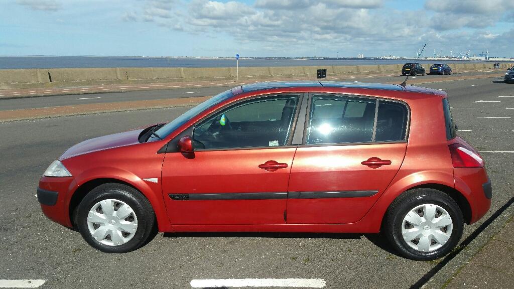 2005 Renault megane 1.4