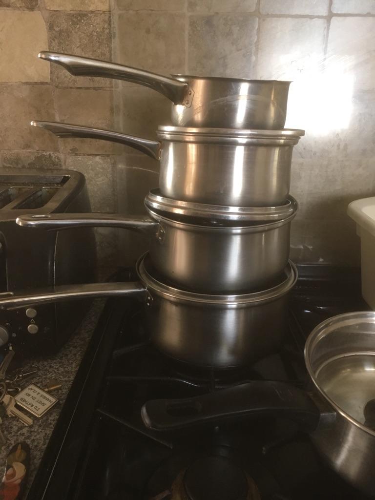 SOLD !!!!! Sauce pans