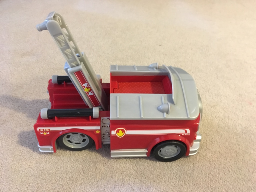 Paw Patrol 'on a roll' fire engine