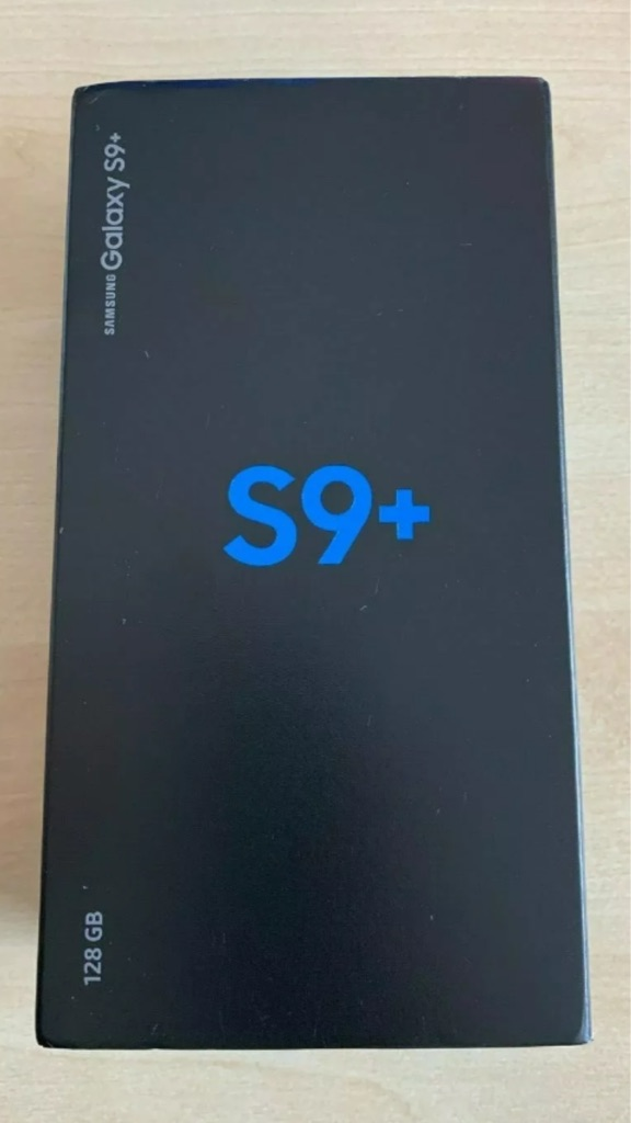 Samsung galaxy S9 plus 128gb coral blue