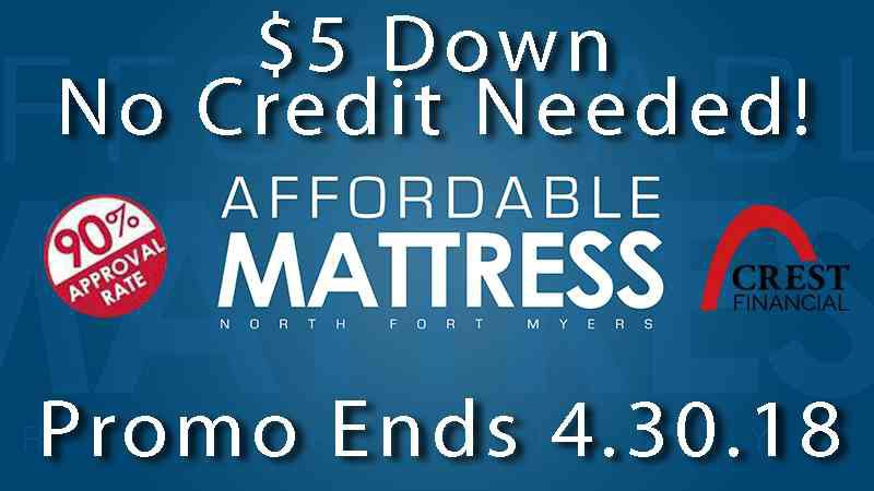 $5 down - brand new mattresses!
