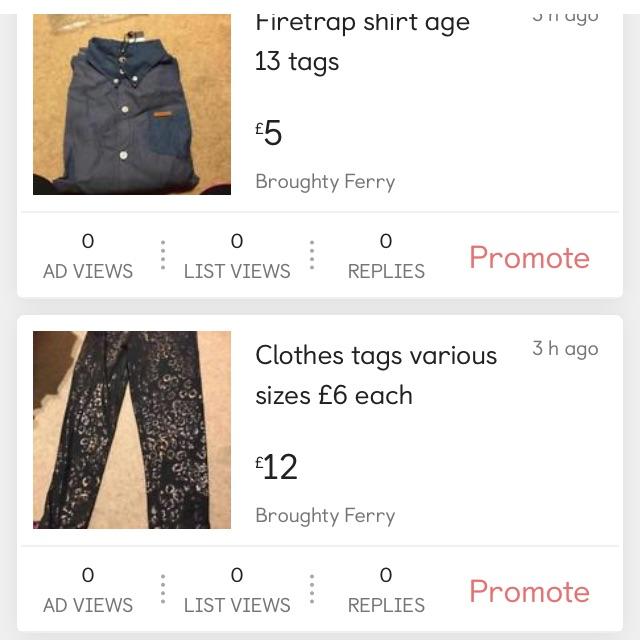 Kids clothes £5 each