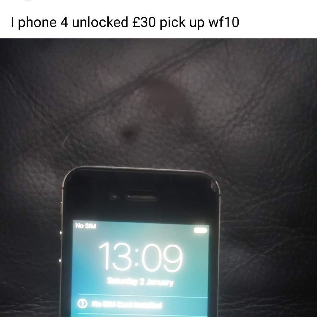 Iphone 4 unlocked
