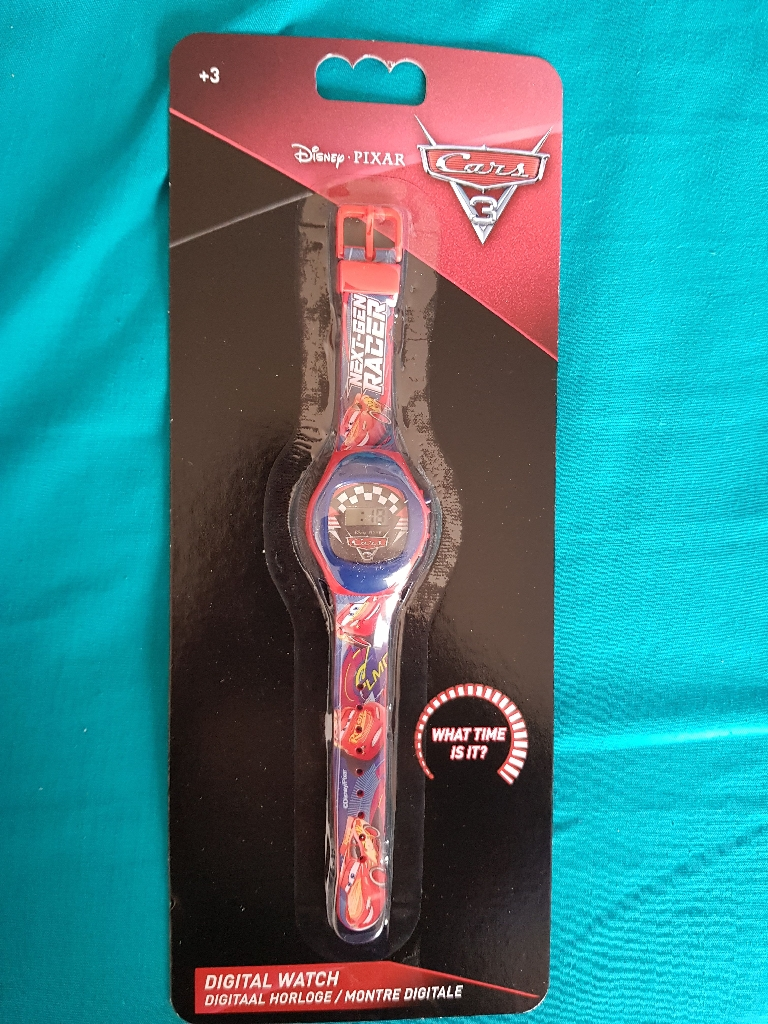 Brand new disney cars watch