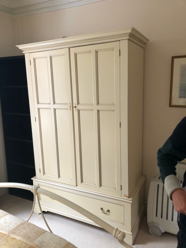 Excellent Laura Ashley Wardrobe/ cupboard