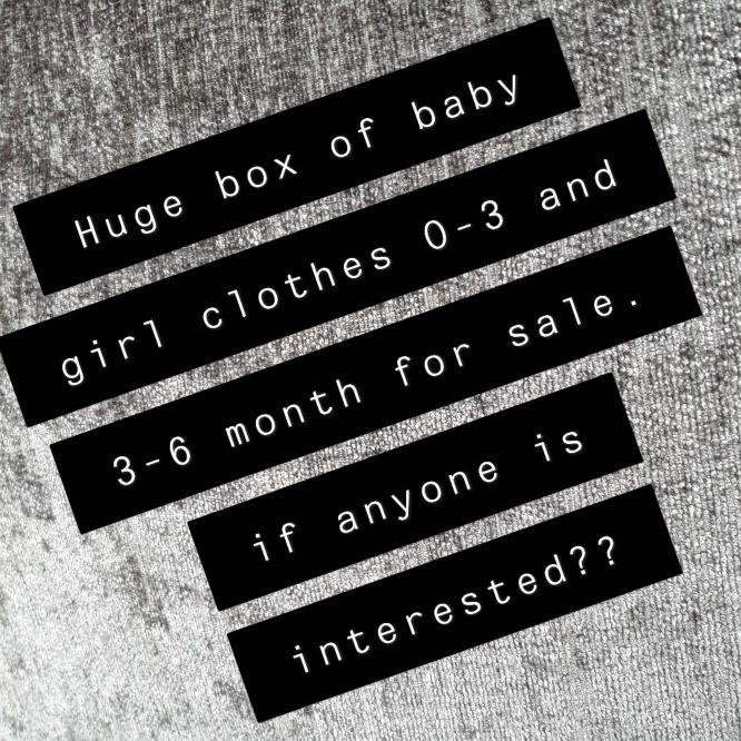 0-3 and 3-6 month girls