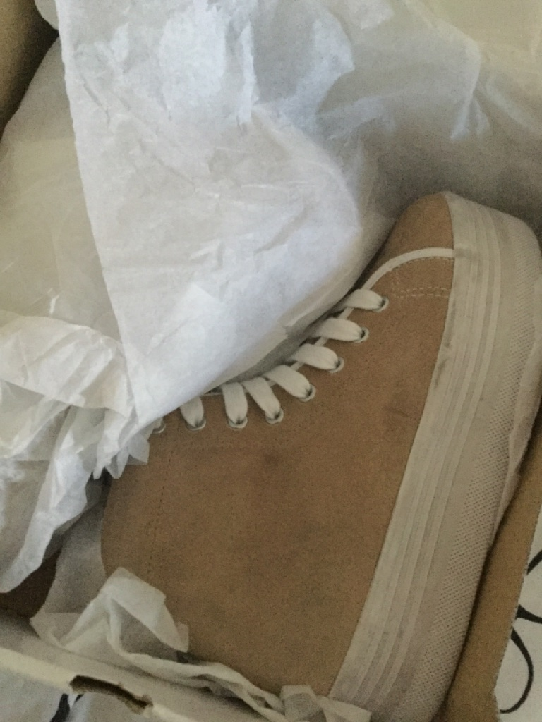 Jeffery Campbell Suede Hi-Tops