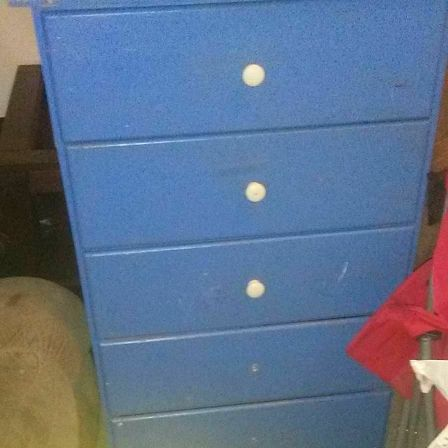 Blue dresser working perfect.