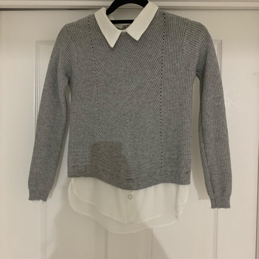 Grey jumper top