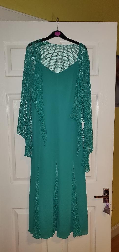 Glitz long dress, size 14