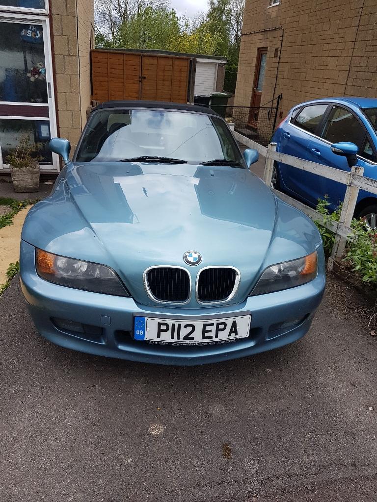 Ice Blue BMW Z3
