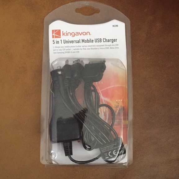 Universal Mobile USB Charger