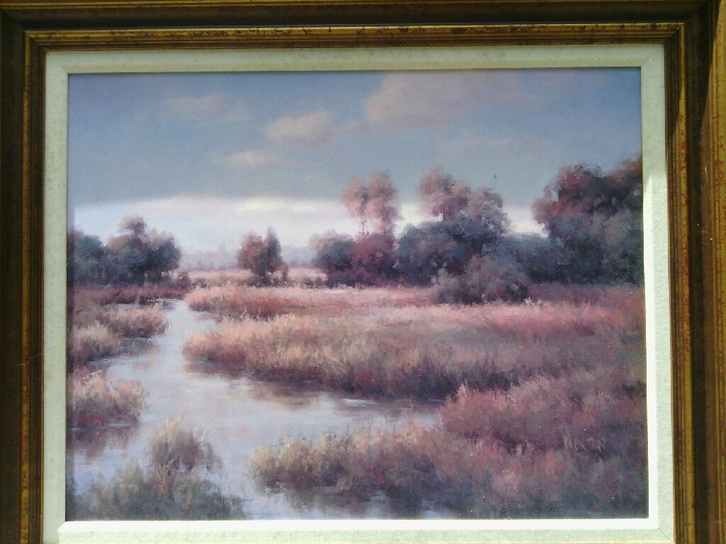 Bayou Landscape Art