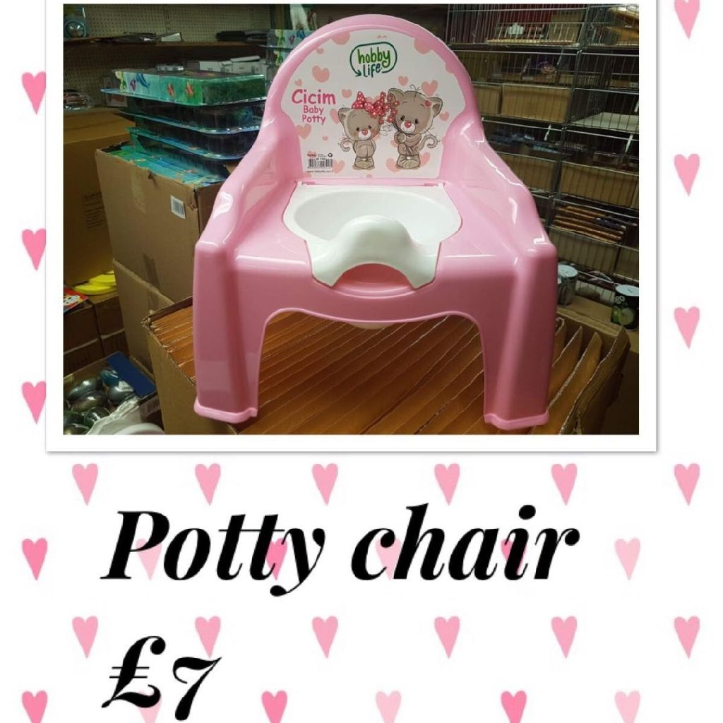 Potty chairs