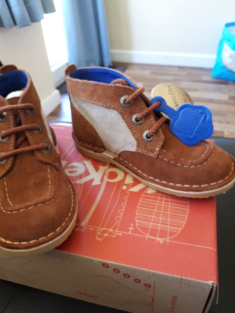 Boys brand new Kickers boots
