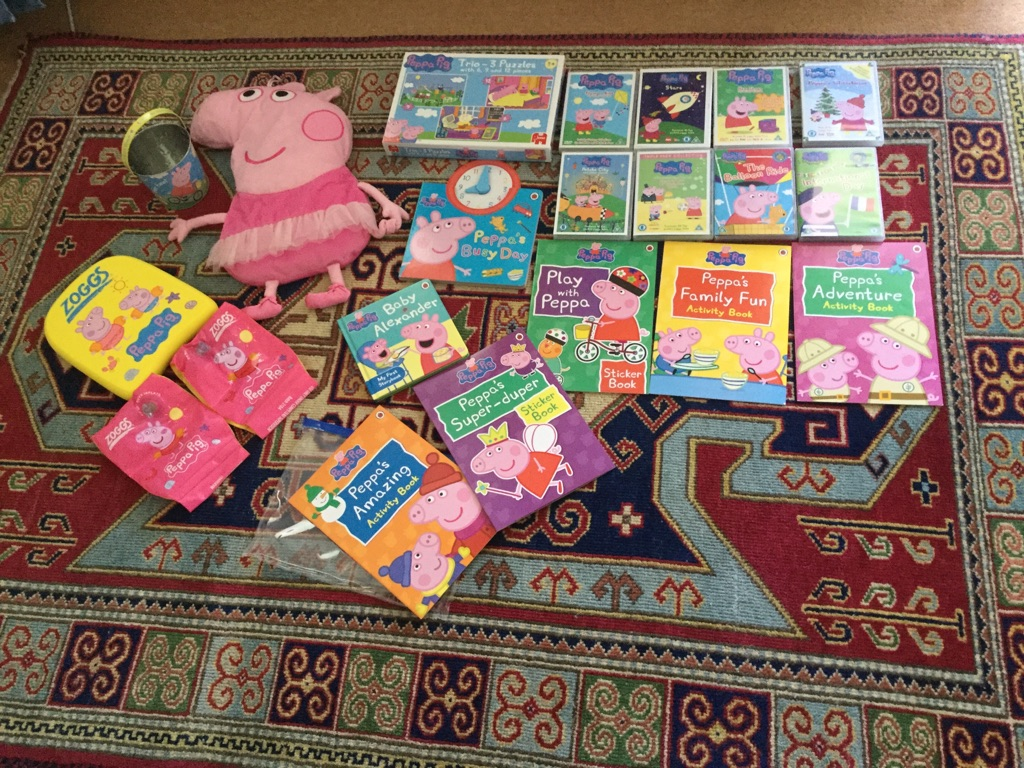 Peppa Pig bundle - 20 items