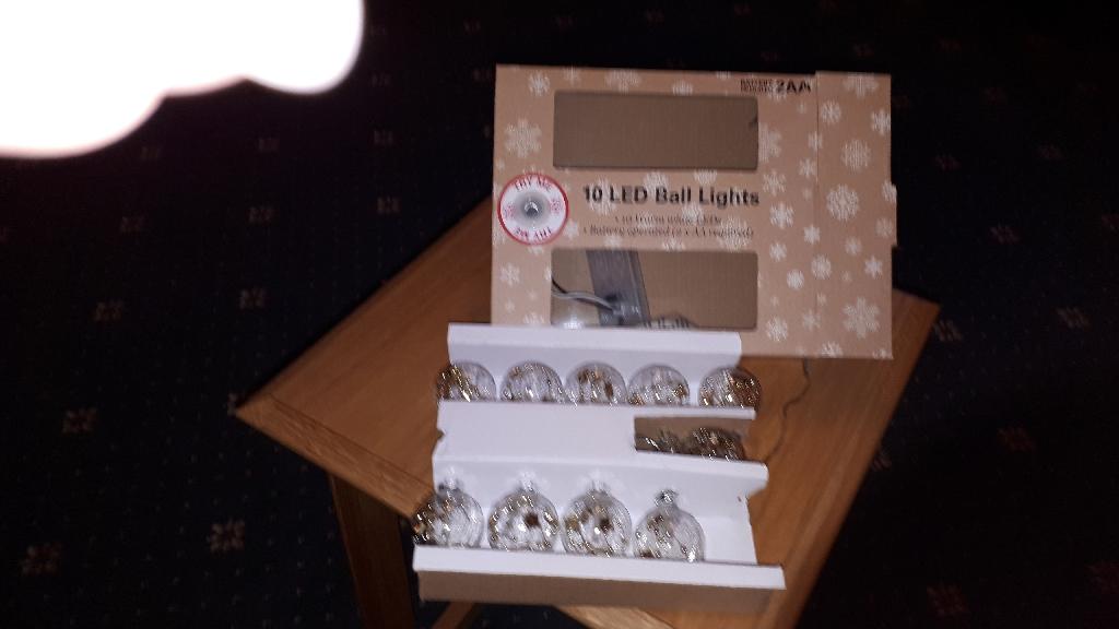 10 LED lights