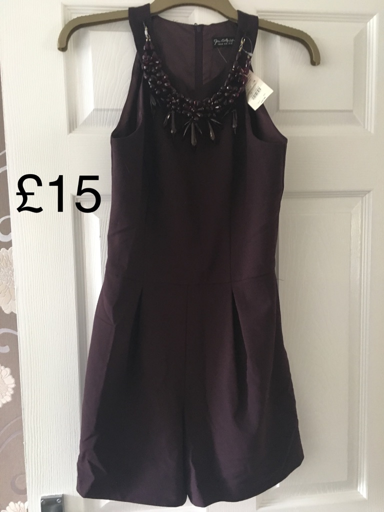 Miss Selfridge playsuit size 10