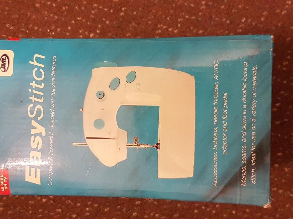 Easy stitch portable sewing machine