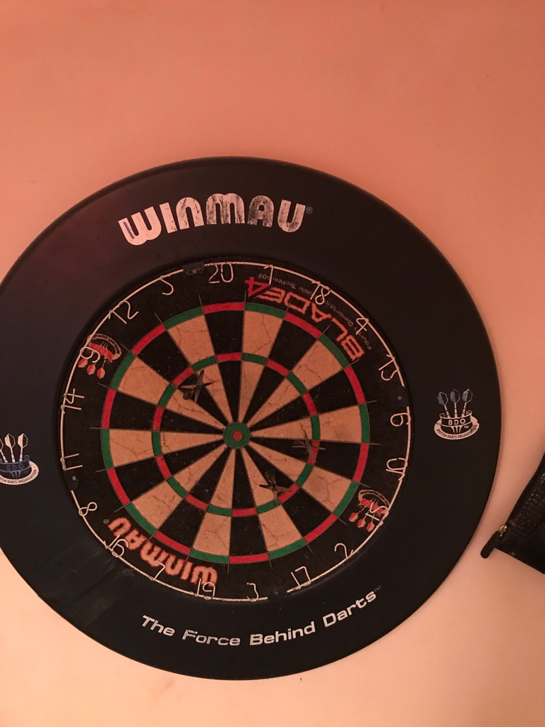 Dart board and darts £20 ONO