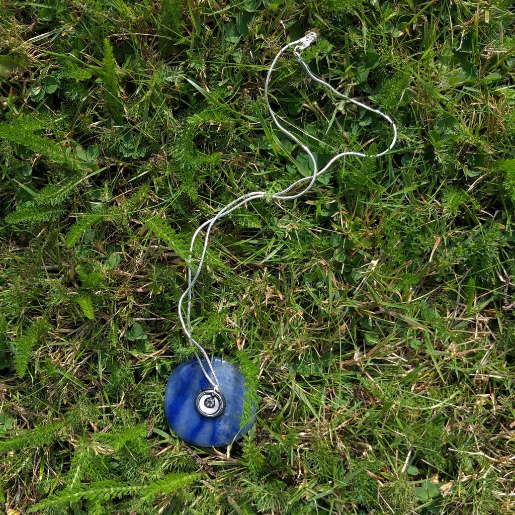 Handmade Miniature Moon Necklace
