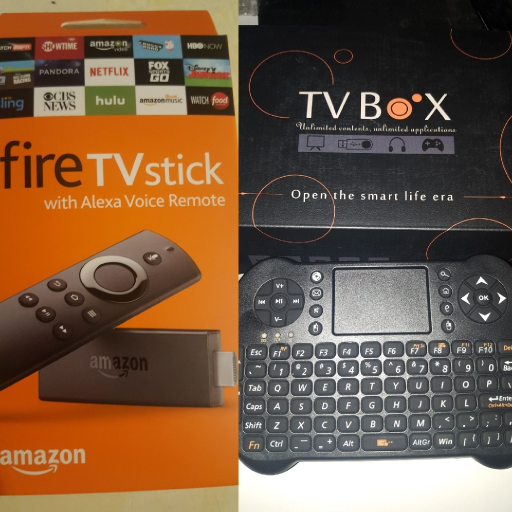 New firesticks and android boxes fully loaded