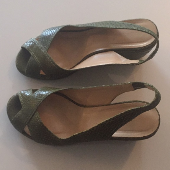 Hobbs green sandals