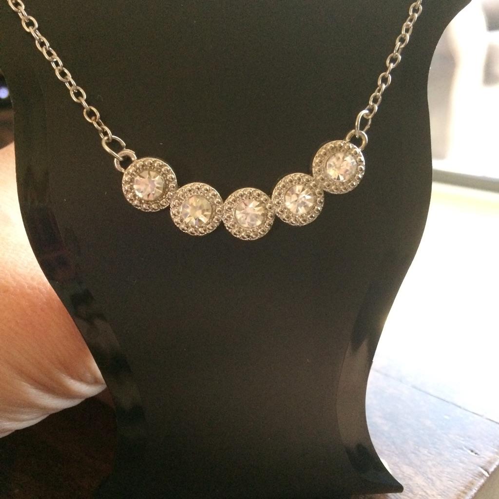 New Diamonte necklace