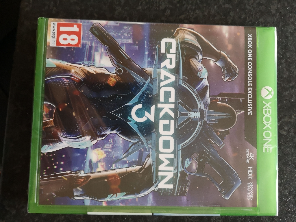 X Box One Crackdown 3 Brand New and Sealed