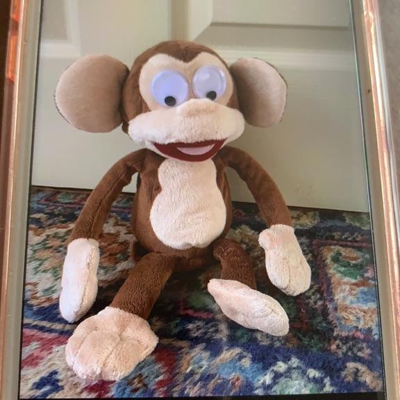 Trumping monkey