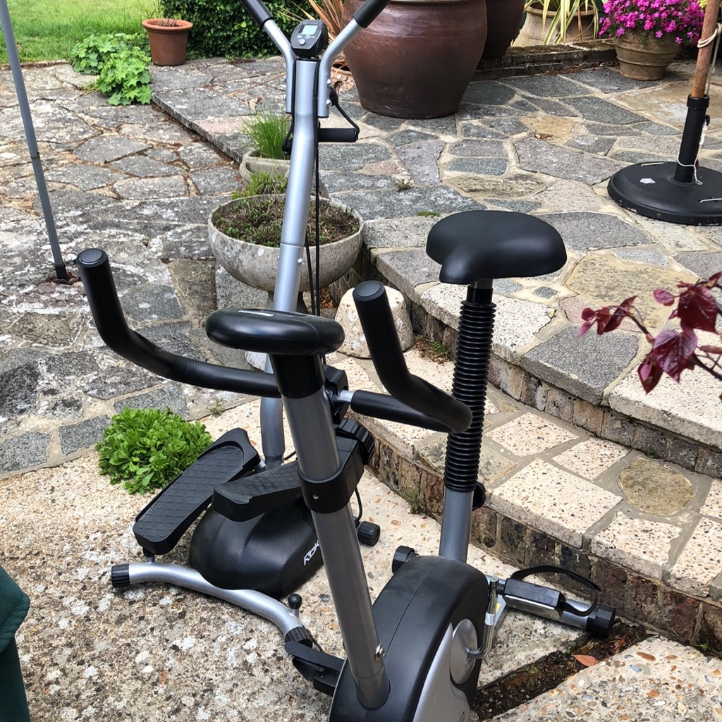 Magnetic pro cycle  pro fitness and reebok twist stepper for sale