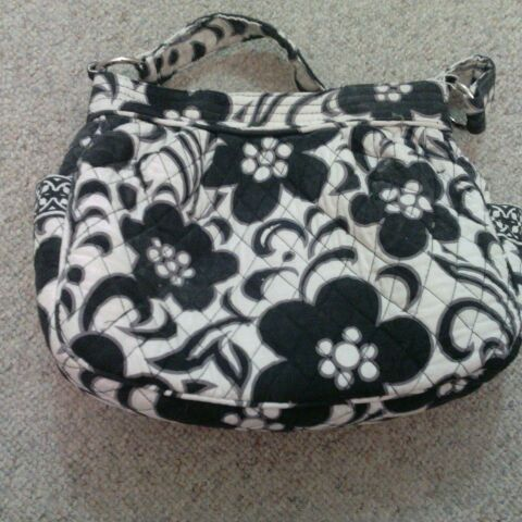 Vera Bradley Day and Night Patterned purse